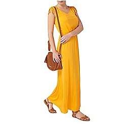 Dorothy Perkins - Petite yellow maxi dress