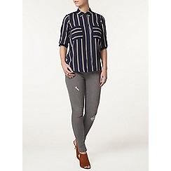 Dorothy Perkins - Petite stripe shirt