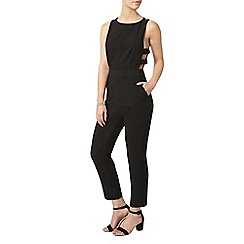 Dorothy Perkins - Petite black button jumpsuit