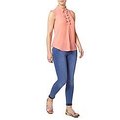 Dorothy Perkins - Petite frill sleveless shirt