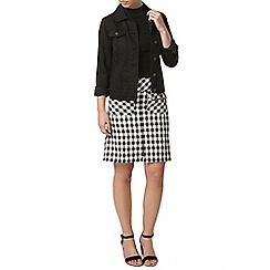 Dorothy Perkins - Petite check gingham skirt