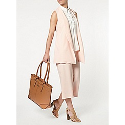 Dorothy Perkins - Petite blush sleeveless jacket