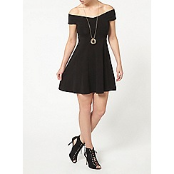 Dorothy Perkins - Petite jersey bardot dress