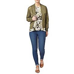 Dorothy Perkins - Petite khaki bomber jacket