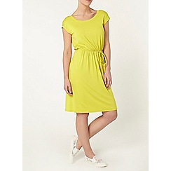 Dorothy Perkins - Petite lime midi dress