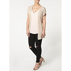 Dorothy Perkins - Petite rib jersey cover up