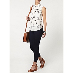 Dorothy Perkins - Petite butterfly sleeveless shirt