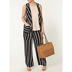 Dorothy Perkins - Petite navy stripe jacket