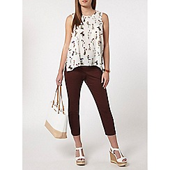 Dorothy Perkins - Petite ivory stem floral camisole