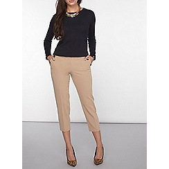 Dorothy Perkins - Petite stone crop trousers