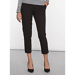 Dorothy Perkins - Petite black slim leg trousers