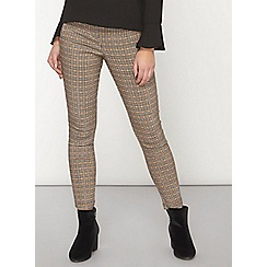 Dorothy Perkins - Petite check bengaline trousers