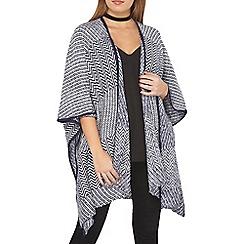 Dorothy Perkins - Petite navy blanket poncho