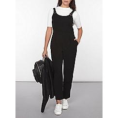 Dorothy Perkins - Petite black crepe jumpsuit