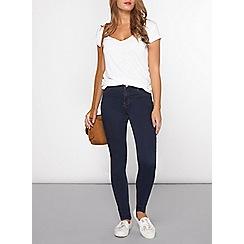 Dorothy Perkins - Petite indigo premium bailey skinny jeans