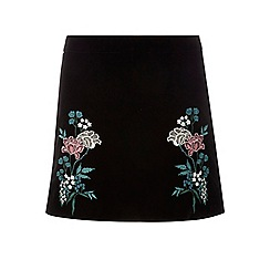 Dorothy Perkins - Petite embroidered skirt