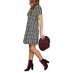 Dorothy Perkins - Petite check fit and flare dress