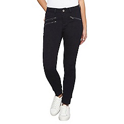 Dorothy Perkins - Petite indigo zip bailey jeans