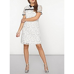 Dorothy Perkins - Petite ivory lace dress