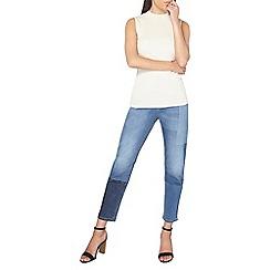 Dorothy Perkins - Petite laser patch jeans