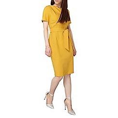 Dorothy Perkins - Petite yellow pencil dress
