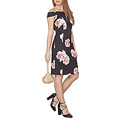 Dorothy Perkins - Petite floral bardot dress