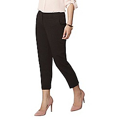 Dorothy Perkins - Black naples ankle grazer trousers