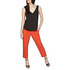 Dorothy Perkins - Petite orange ankle grazer trousers