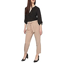 Dorothy Perkins - Petite stone tapered trousers