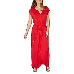 Dorothy Perkins - Petite red jersey maxi dress
