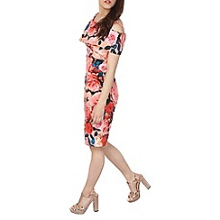 Dorothy Perkins - Petite floral bardot dress