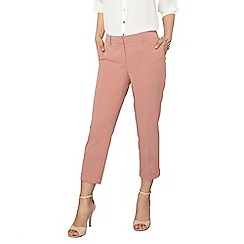 Dorothy Perkins - Petite rose 'naples' ankle grazer trousers