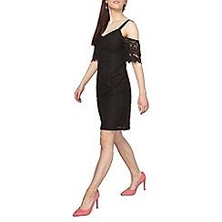 Dorothy Perkins - Petite black lace pencil dress
