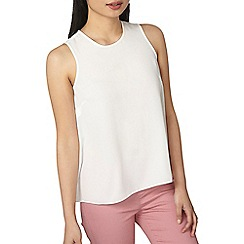 Dorothy Perkins - Petite ivory built up top