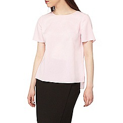 Dorothy Perkins - Petite pink bar back t-shirt
