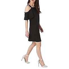 Dorothy Perkins - Petite cold shoulder shift dress
