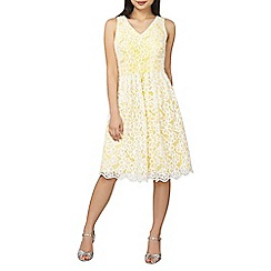 Dorothy Perkins - Petite yellow daisy prom dress