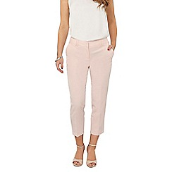 Dorothy Perkins - Petite blush naples ankle grazer trousers
