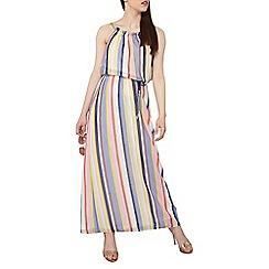 Dorothy Perkins - Petite stripe chain maxi dress
