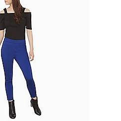 Dorothy Perkins - Petite cobalt eden ankle grazer trousers