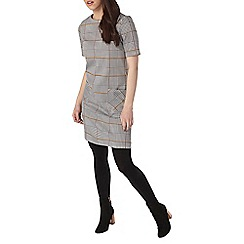 Dorothy Perkins - Petite check pocket tunic dress