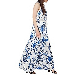 Dorothy Perkins - Petite white bird printed maxi dress