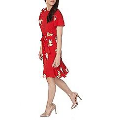 Dorothy Perkins - Petite red daffodil dress