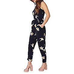 Dorothy Perkins - Petite navy daffodil jumpsuit