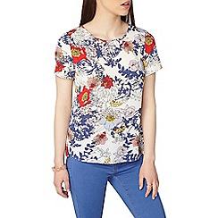 Dorothy Perkins - Petite floral print soft t-shirt