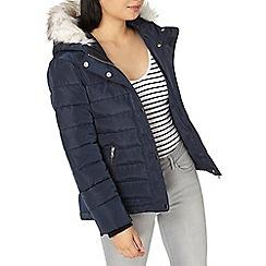 Dorothy Perkins - Petite navy short puffer jacket