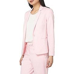 Dorothy Perkins - Petite pink cool suit jacket