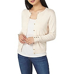 Dorothy Perkins - Petite oat cotton cardigan