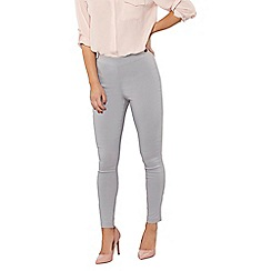 Dorothy Perkins - Petite grey bengaline trousers