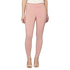 Dorothy Perkins - Petite blush bengaline trousers
